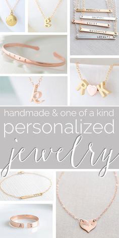 If there is one thing we like most, it is making Personalized Jewelry. Check out our latest blog featuring #handmade and #personalizedjewelry. #blog