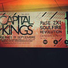 Listos para entrar!!!! #music @capitalkings #capitalkings #electrónica buen parche y pura actitud! #G12TVENVIVO