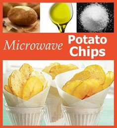 Genius! How to make Microwave Potato Chips