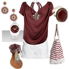 Gameday, created by msubulldog.polyvore.com