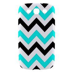 New Chevron Pattern Samsung Galaxy S III Hardshell Case Cover Samsung Galaxy S3 Case-so cute!
