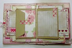 Scrappersfun: Handmade Diary/journal