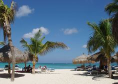 Beach at the Radisson Aruba- the second best place on Earth (behind home). See you in July!