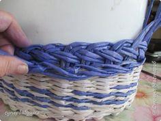 Мастер-класс Плетение Мои новые загибки Трубочки бумажные фото 8