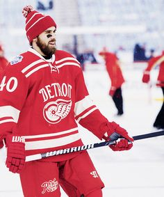 Henrik Zetterberg - Detroit Red Wings, Winter Classic 2014