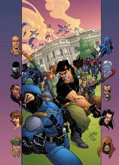 G.I. JOE #4/Search//Home/ Comic Art Community GALLERY OF COMIC ART