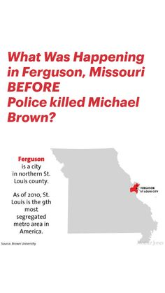 Killed By Police, Brown University, Mother Jones, Michael Brown, Criminal Justice System, African American History, Sociology, Social Issues, Civil Rights