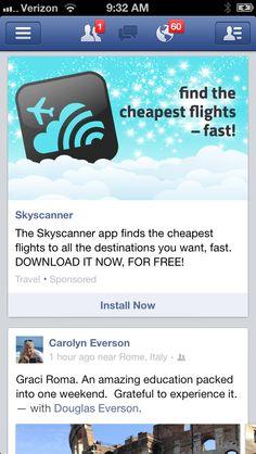 Prominent app icon