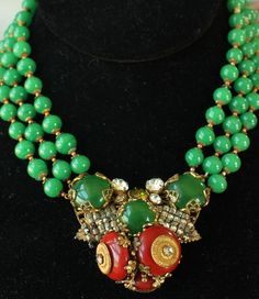Celebrities have been wearing Miriam Haskell costume jewelry for half a century. The reason is QUALITY. It remains some of ...