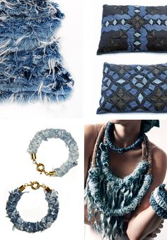 Denim jewelry ideas