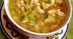sopa de coditos en caldo
