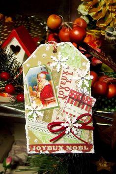 Manidimammacarla: Christmas Inspirations Blog Hop #1 - Christmas Tag...