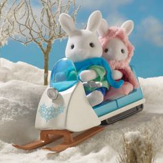 Sylvanian Families Skidoo,plus its too expensive here in the philippines:(