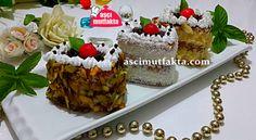 Yulaf Bisküvili Porsiyonluk Kolay Pasta