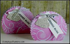 Stampingwithamore: WEDDING PARTY FAVOR BOX