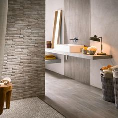 Cut Argento Muretto Wall Tiles - If you're struggling on what to do with your home décor, why not use our sample service to help you decide. With a huge range of tiles and help from our knowledgeable team you know you will find exactly what you're looking for. Get creative with Tileflair! #KitchenTiles #BathroomTiles #WallTiles #PorcelainTiles #ConservatoryTiles #CutTiles #GreyTiles #TexturedTiles #SampleTiles