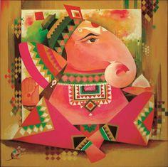 Ganpati, Ganesha, Elephant God,Gajanan   art, ganesha, paintings, mantras, hindu prayers, books, drawings