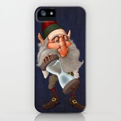 Elf with hourglass iPhone & iPod Case by Jordygraph - $35.00