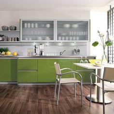 Popular Mark David us Beeck Brilliant Green kitchen