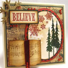 Cards By Tim Holtz | Christmas Card ala Tim Holtz | Flickr - Photo Sharing!