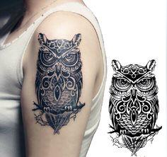 owl tattoos on wrist - Google Search