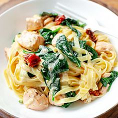 Pasta Recipes, Snack Recipes, Healthy Recipes, Tasty, Yummy Food, Fish And Seafood, Food Porn, Food And Drink, Lunch
