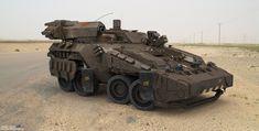 Сoncept armored personnel carrier, Eduard Pronin on ArtStation at http://www.artstation.com/artwork/oncept-armored-personnel-carrier