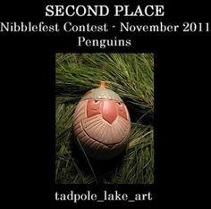 Nibblefest Art Contest - November 2011 - Penguins