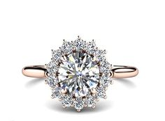 20 Non-Traditional Engagement Rings That Are Crazy Beautiful via Brit + Co.