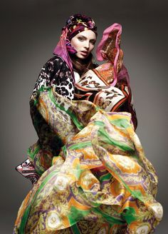 Publication: Vogue Germany January 2012 Title: Body Art Model: Carola Remer Photography: Greg Kadel