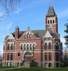 Filmore County Courthouse - Geneva, Nebraska