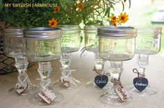 i have these in a taller version--these are super cute though! do they sell mason jars this short???