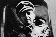 This is a photograph of Dr. Josef Mengele, a Nazi war criminal who conducted human racial experiments on the prisoners of the Auschwitz extermination camp.  He had a special obsession with twins and eye color and conducted several inhumane experiments to test his twisted theories on the two topics.  Following the war's end, he escaped Germany and died of a stroke in Brazil in 1979 at age 67.  Source of Image: http://www.mirror.co.uk/news/uk-news/secret-diaries-of-nazi-doctor-josef-144698