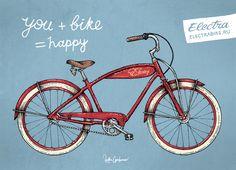 Bicycles Part 2, Electra Bikes by Anton Gorbunov, via Behance