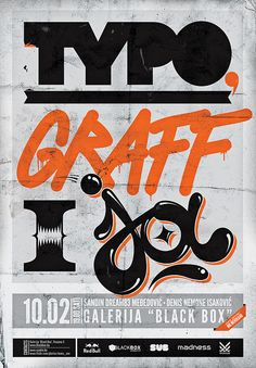 Love the mix of type. Done very well. :D