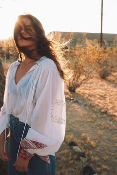 Desert golden hour by alyssa-rae on Free People #FPME:
