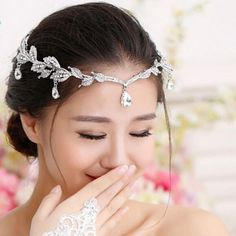 Knowledgeable Rhinestone Hair Band Pearl Princess Women Headbands Girls Kids Hair Accessories 2019 Latest Style Online Sale 50% Clothing, Shoes & Accessories Hair Accessories