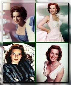 Maureen O'Hara. Hollywood Beauty