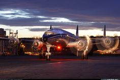 Absolutely Beautiful. Classic Lockheed L-1049F Super Constellation