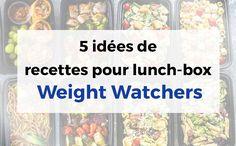 5 idées de recettes légères pour lunch-box WW, des recettes équilibrées et faciles à préparer pour vous permettre de manger sainement même au boulot.
