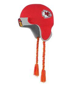 Another great find on  zulily! Kansas City Chiefs Tassel Knit Beanie   zulilyfinds Nfl e312c941e