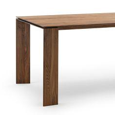 Plus Walnut Dining Table Modern Dining Furniture Modern Dining