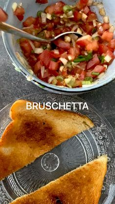 Bruchetta, Vegetarian Recipes, Healthy Recipes, Italian Appetizers, Snacks, Family Meals, Italian Recipes, Garlic, Brunch