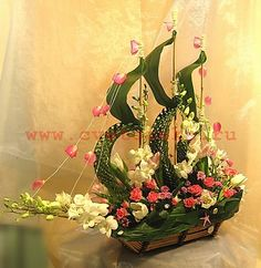 Ship of flowers - Cutty Sark