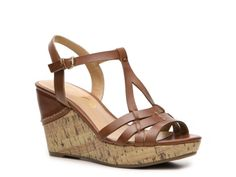 Got these today at DSW 3/30/13 ~ Unisa Kippy Wedge Sandal