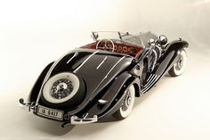 Baroness Gisela von Krieger's 1936 Mercedes-Benz 540K Special Roadster was sold by Gooding & Co for...