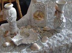 Martinel: Декорация в бяло - Mantel decoration