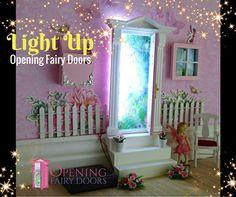 Create a Magical Portal with the \'lil Fairy Door | Lil fairy door ...