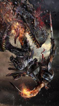 Dragonborn by uncannyknack on deviantART