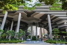Cheap hotels in Singapore, best prices and cheap hotel rates on Hotellook Hotel Architecture, Green Architecture, Futuristic Architecture, Sustainable Architecture, Architecture Details, Landscape Architecture, Landscape Design, Singapore Architecture, Atrium Design